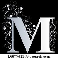 capital letter M