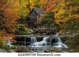 Grist Mill Waterfalls