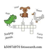 Lustige Kreuzworträtsel