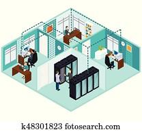 isometrisch, Datacenter, begriff