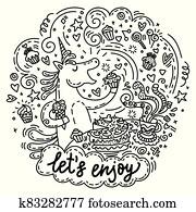 Lets enjoy unicorn