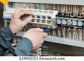 electrician work