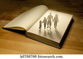 Family Book Story