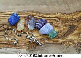 Healing Crystals and Dowser
