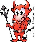 Little Red Devil Boy