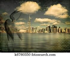 Nature, big city