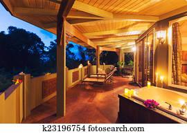 Vasca Da Bagno Romantica Con Candele : Candele vasca bagno archivi fotografici. 1.996 candele vasca bagno è