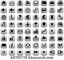 New Web & Media Internet buttons