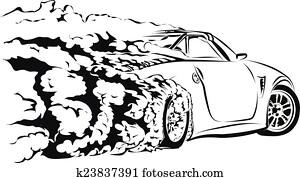 car sport drift
