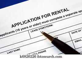 Signed the rental application