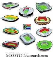 fussball, stadions