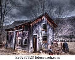 HDR Vintage Barn