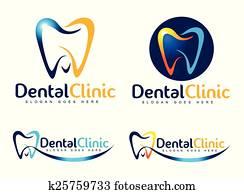 dental, zahnarzt, logo