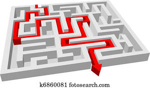 labyrinth, -, labyrinth, puzzel