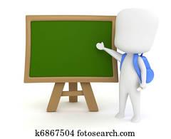 Preschool Blackboard
