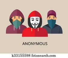 Anonymous hacker team