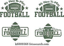 American Football & Fantasy stamps
