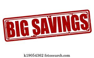 Big savings stamp