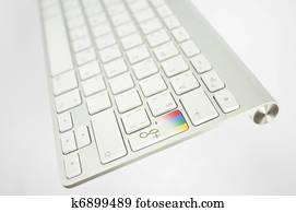 Google plus keyboard button