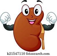 Healthy Kidney Mascot