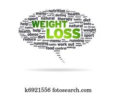 Speech Bubble - Weight Loss