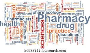 Pharmacy background concept