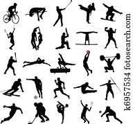 e4b86d9432 Desporto Ilustrações Clip Art 576.414 desporto desenhos clip art ...