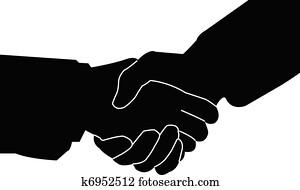 handshake - vector