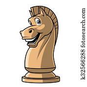 Chess Knight mascot