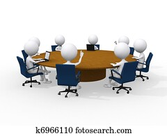 Concept of business meeting