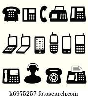Telephone symbols