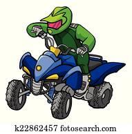 ATV moto