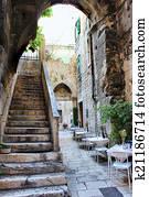Italian terrace