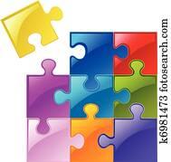 puzzlesteine