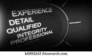 Creative image of recruitment concept