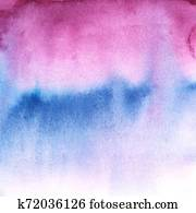 abstraction watercolor background purple and blue color with divorce gradient.