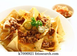 Mexican food appetizer