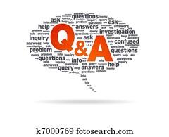 Speech Bubble - Q&A