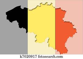 Belgien Karte Umriss.Umrissen Landkarte Von Belgien Mit Durchsichtig Hintergrund