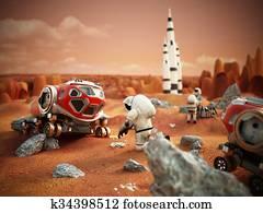 Manned Mars mission