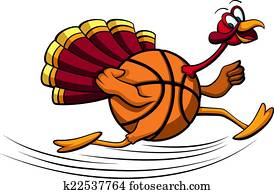 Thanksgiving Turkey Basketball