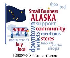 alaska kennzeichen, einzelfachhandel