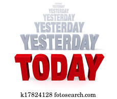 Focus On Today, Not Yesterday