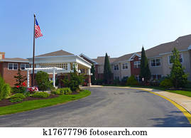 Nursing home Entrance