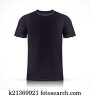 clip art of blue t shirt template k23201026 search clipart