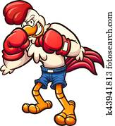 Boxer chicken