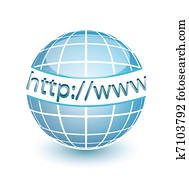 HTTP WWW internet web globe