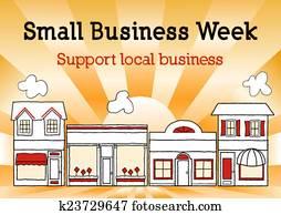 Small Business Week Main Street USA