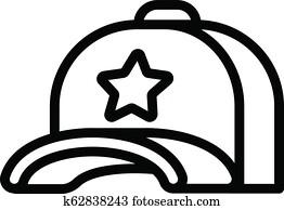 06d63e08439 Mesh Back Caps Clip Art Vector Graphics. 27 mesh back caps EPS ...