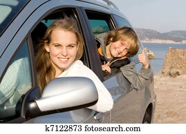 family car hire or rental on vacation